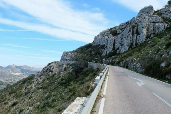 Col de Rates Calpe Cycling