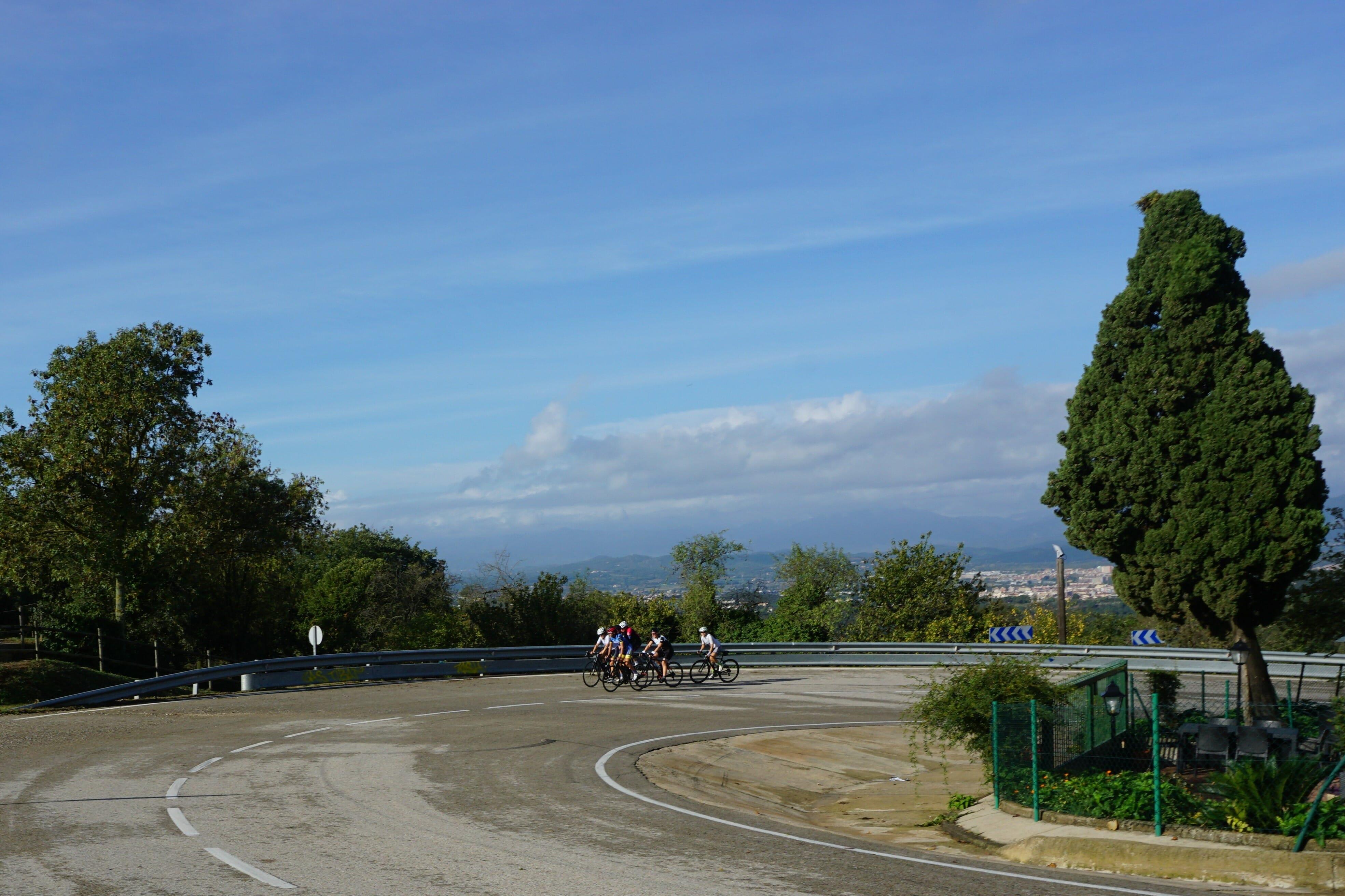 Els Angels Girona Cycling Climb