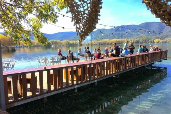 Banyoles Lake Girona Cycling