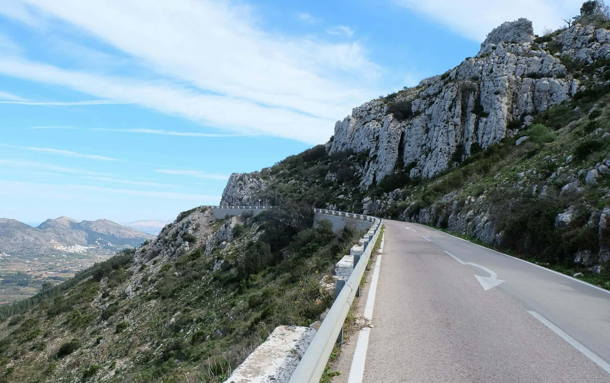Col de Rates Calpe Cycling
