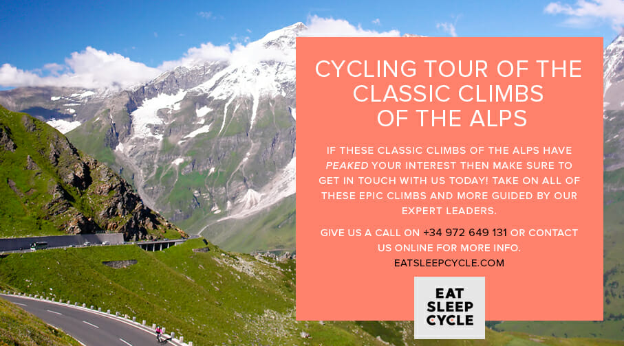 Cycling Vacation of the Classic Climbs of the Alps