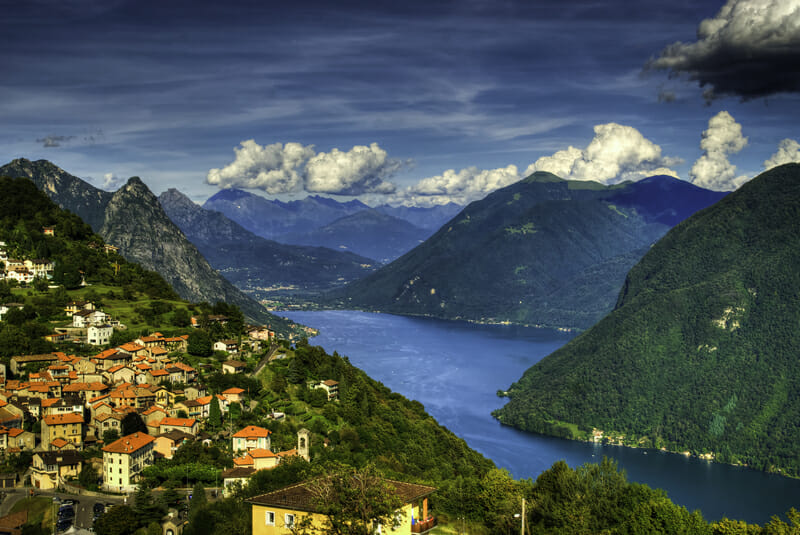 Lake Lugano Cycling