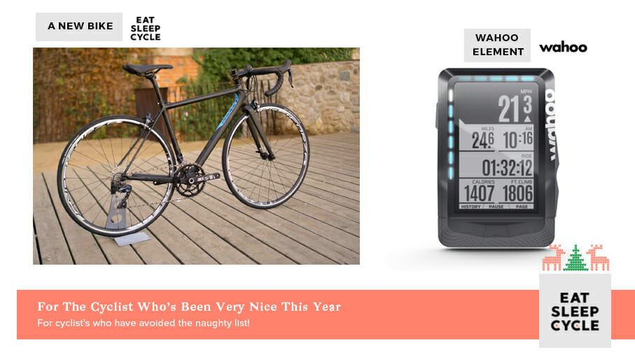 Christmas Presents for Cyclists Who Have Been Good