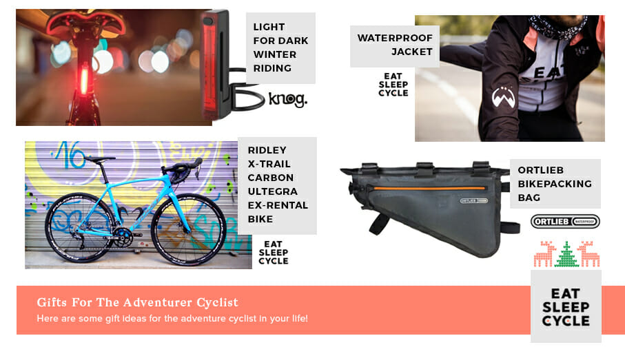 Gifts for Adventure Cyclists - Eat Sleep Cycle