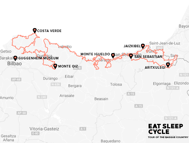 Eat-Sleep-Cycle-Tour-of-the-Basque-Country-Map-Cycling-Tours-Europe