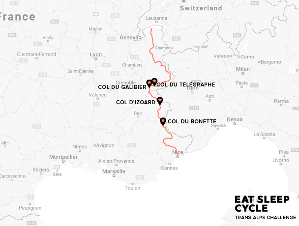 Eat-Sleep-Cycle-Trans-Alps-Challenge-Map-European-Cycling-Tour