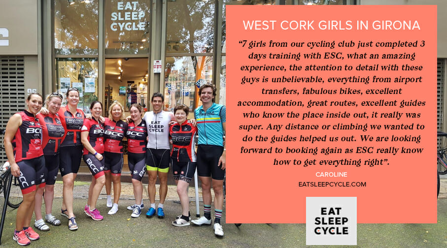 Girls Cycle Tour of Girona - Eat Sleep Cycle Tours