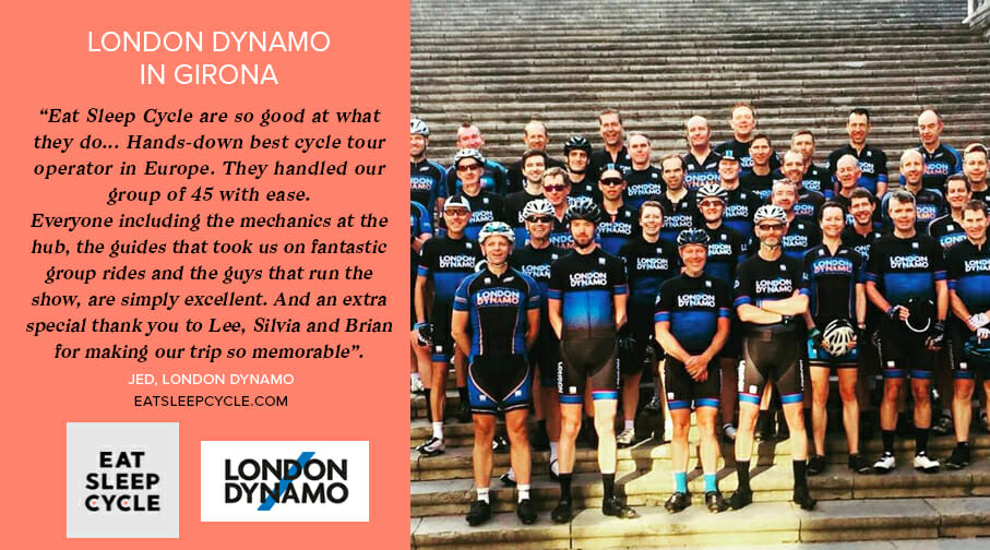 London Dynamo Cycle Tour to Girona - Eat Sleep Cycle