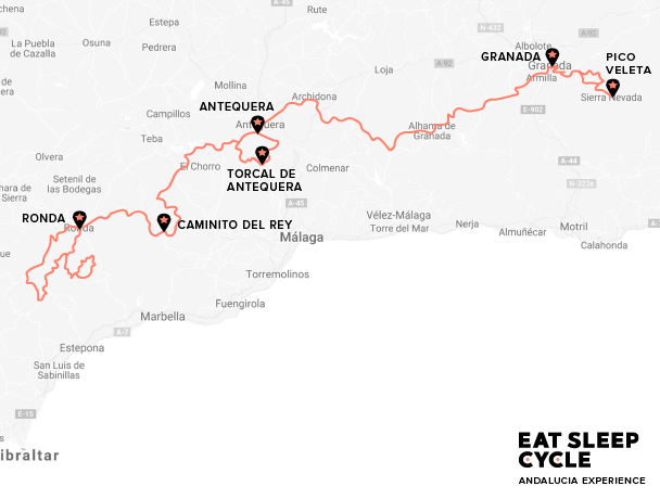 Eat-Sleep-Cycle-Cycling-Holiday-Europe-Andalucia-Experience-Map