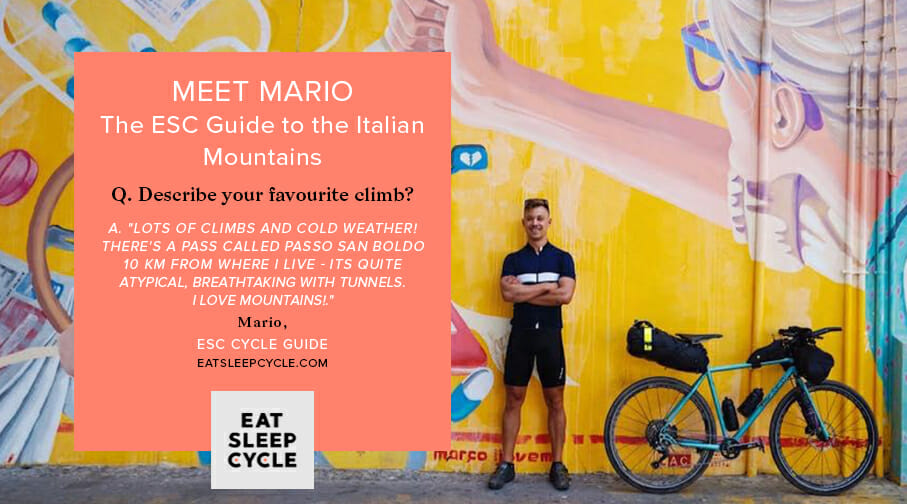 Italian Cycling Tour Guide - Mario - Eat Sleep Cycle