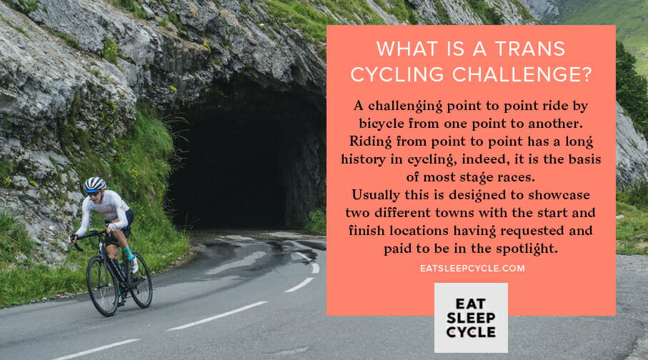 What Is A Trans Cycling Challenge - Eat Sleep Cycle