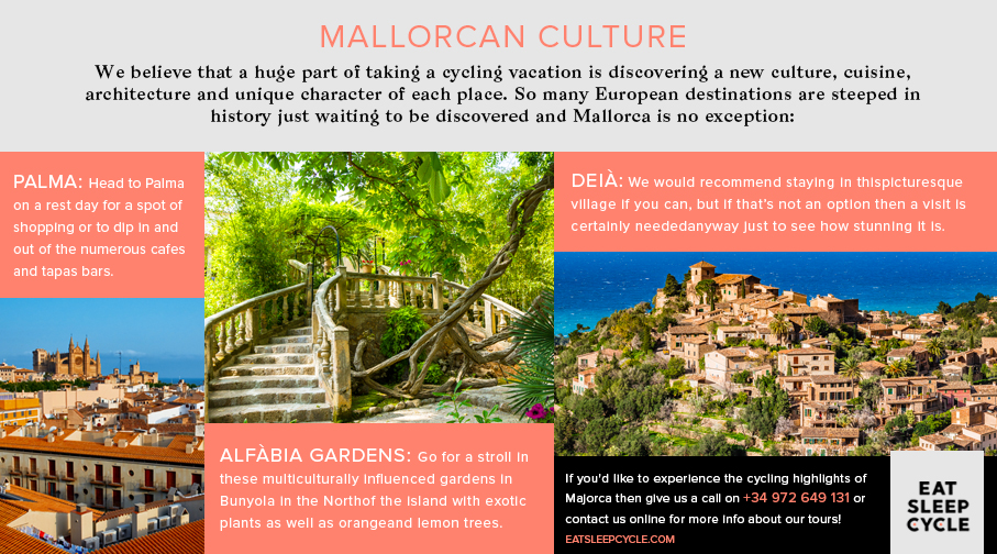 Mallorcan Culture - Majorca Cylce Tour - Eat Sleep Cycle