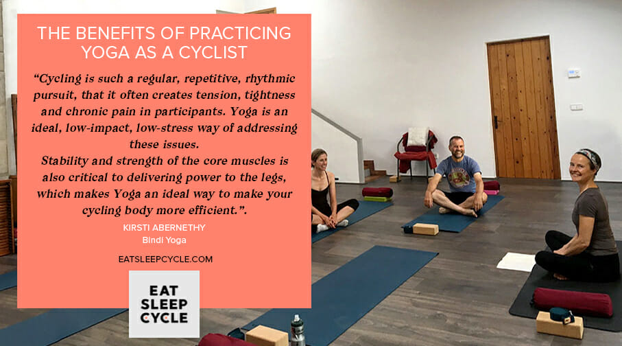 Benefits of Yoga for Cyclists - Eat Sleep Cycle Girona