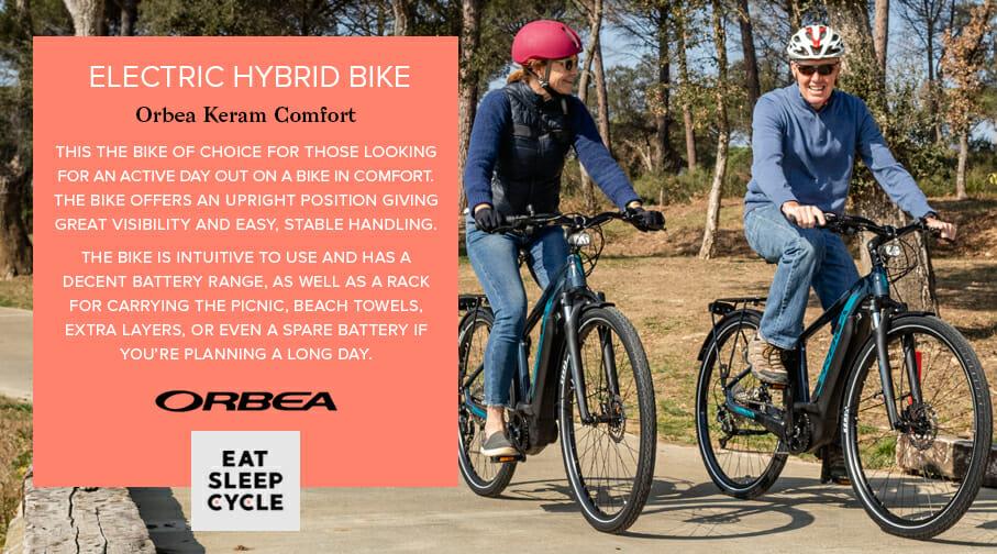 Electric Hybrid Bike Orbea Keram Comfort - Eat Sleep Cycle Girona