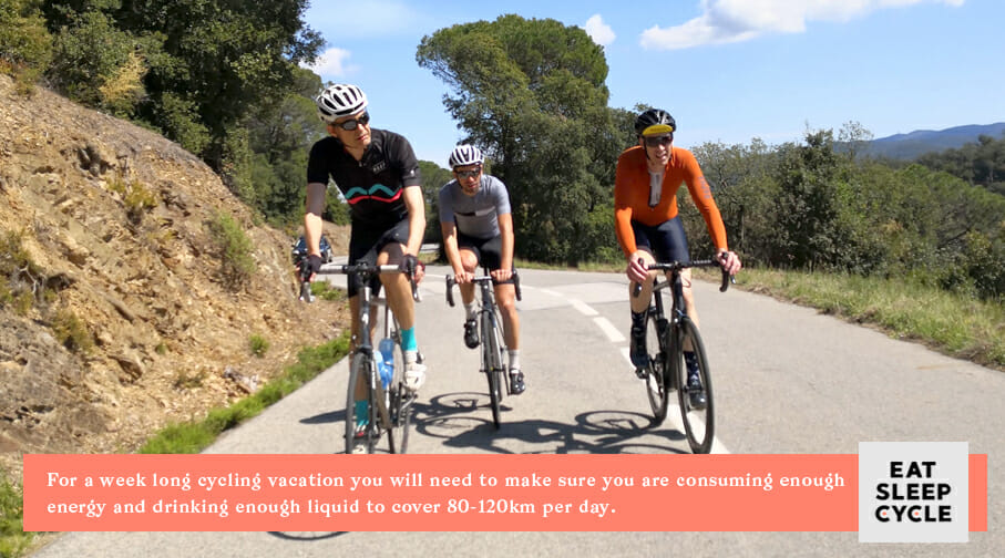 Nutrition for Cyclists - Classic Climbs of Girona Cycling Tour
