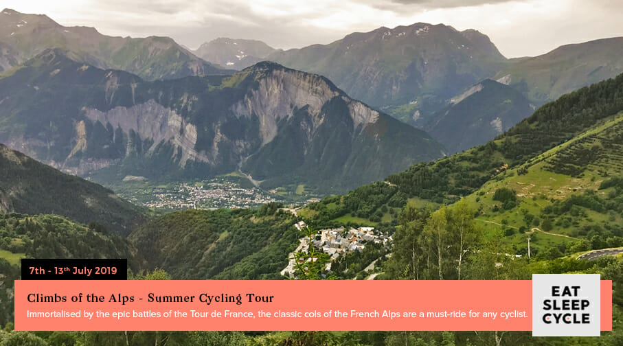 Summer European Cycling Tour - Climb of Alps - Eat Sleep Cycle