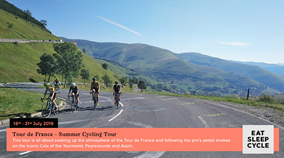 Summer European Cycling Tour - Tour de France