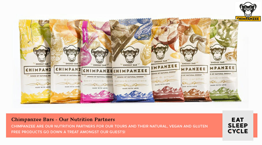 Chimpanzee Bars - Eat Sleep Cycle Nutrion Partners