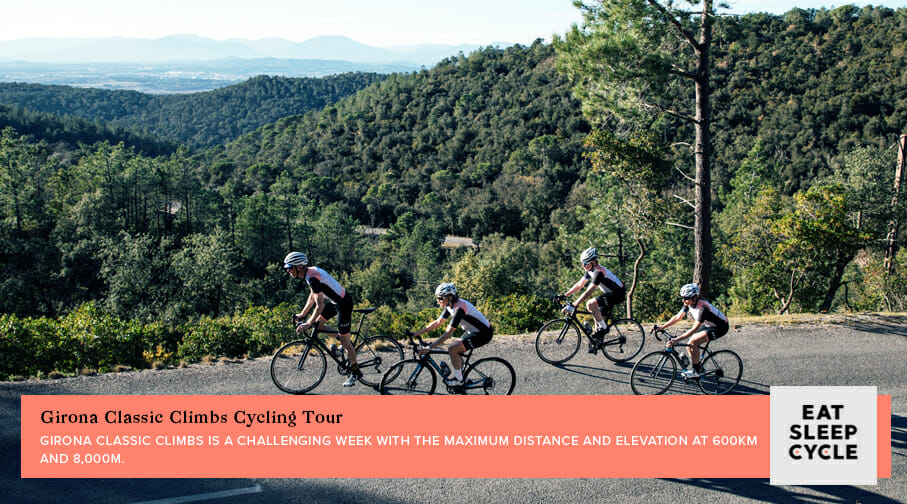 Classic Climbs of Girona Cycling Tour - Popular European Cycling Tours