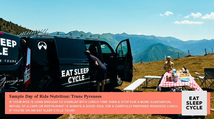Cycling Nutrition for Riding Trans Pyrenees - Eat Sleep Cycle Girona
