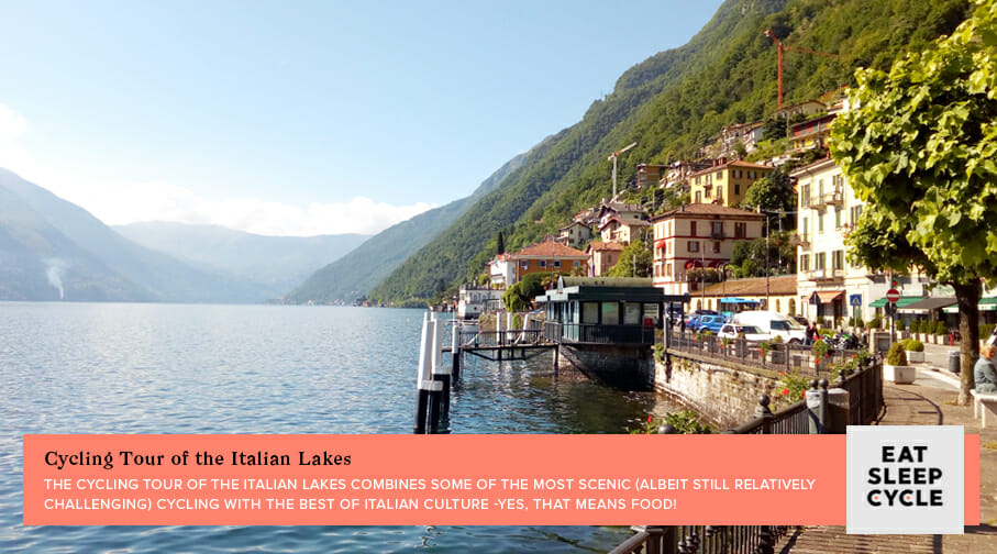 Cycling Tour of Italian Lakes - Popular European Cycling Tours