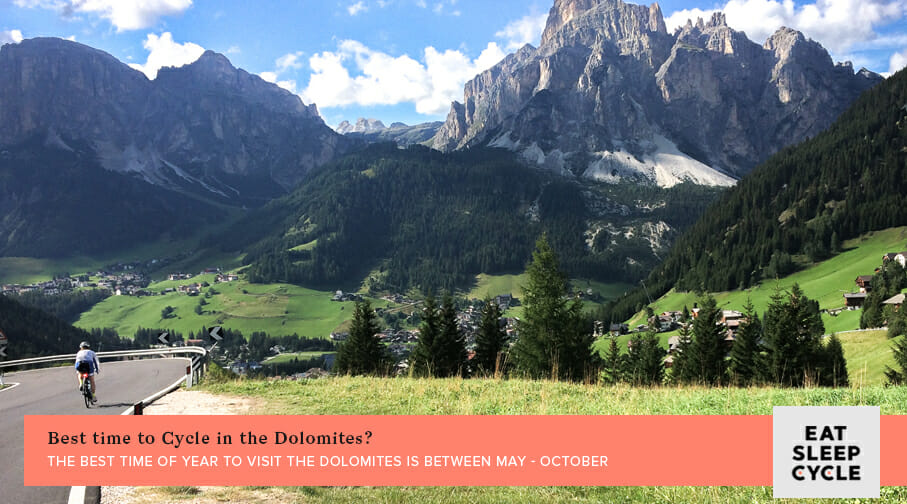 Cyclist's Guide to the Dolomites - Best time to cycle in the dolomites