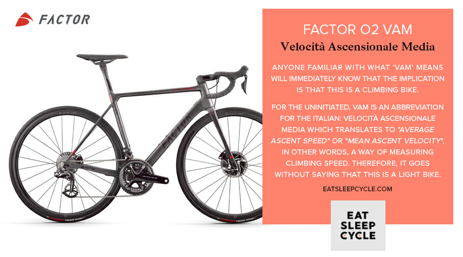 Factor O2 VAM Bike Preview - Velocità Ascensionale Media