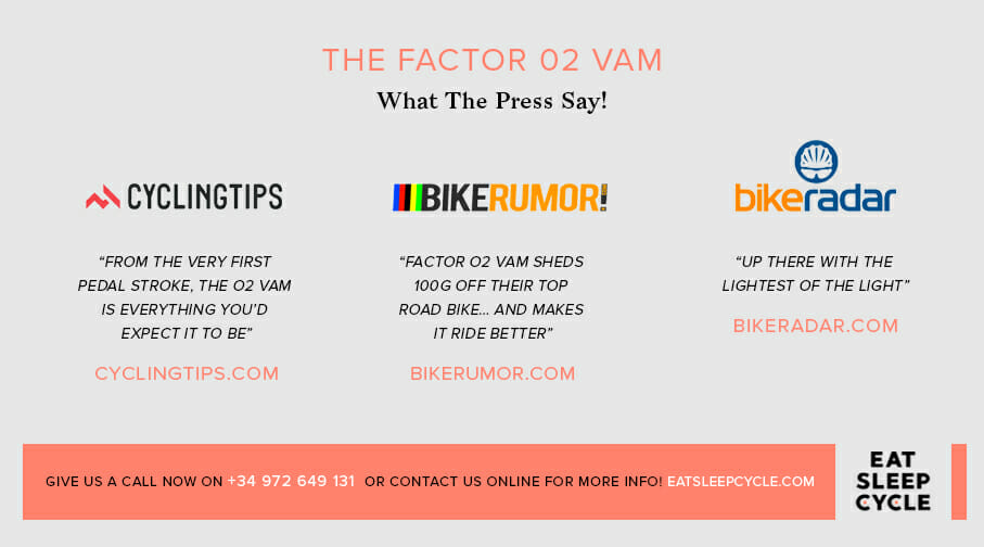 Factor O2 VAM Bike Preview - What The Press Say