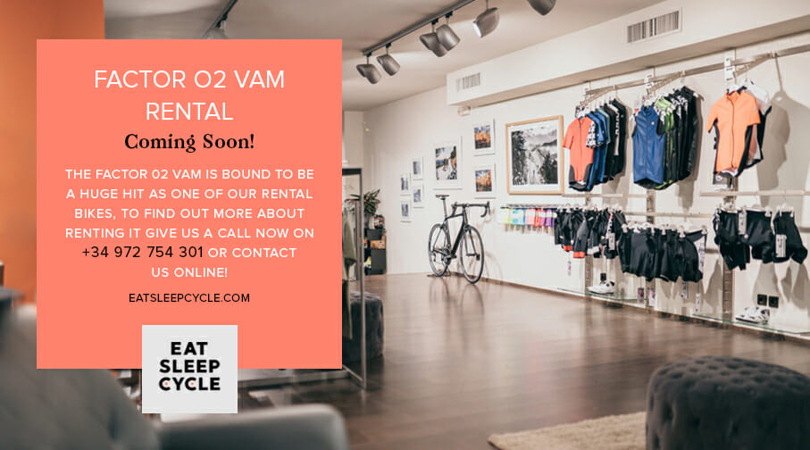 Factor O2 VAM Bike Rental - Coming Soon