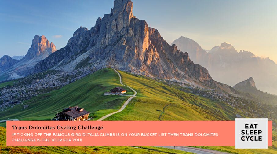 Trans Dolomites Cycling Challenge - Popular European Cycling Tours