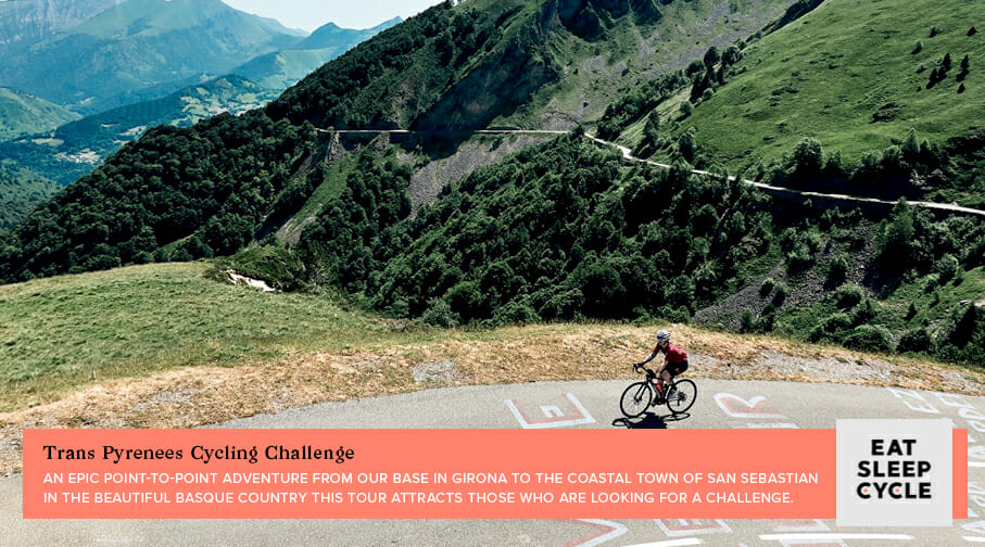 Trans Pyrenees Cycling Challenge - Popular European Cycling Tours