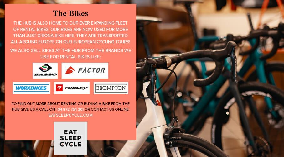 Bike Rental Girona - The Eat Sleep Cycle Hub