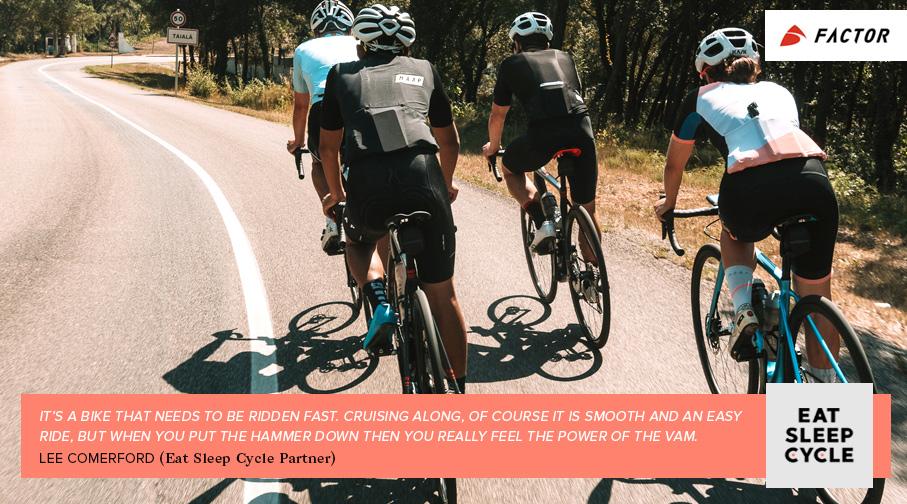 Factor O2 VAM Bike Review - Eat Sleep Cycle - Girona - Lee Comerford