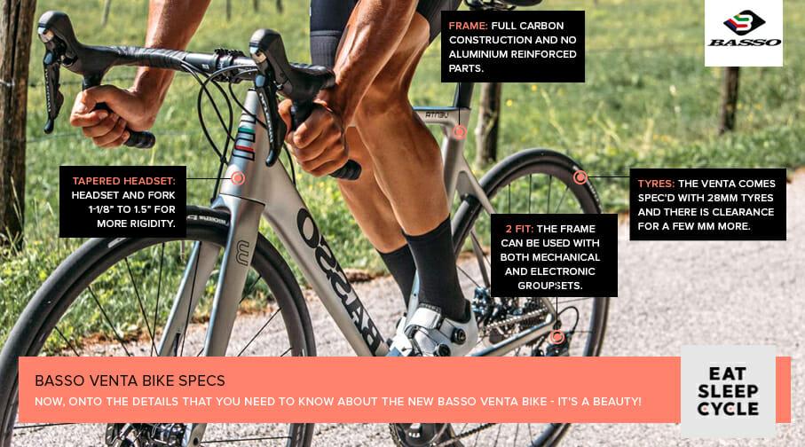 The All-New Basso Venta - Basso Venta Bike Specs