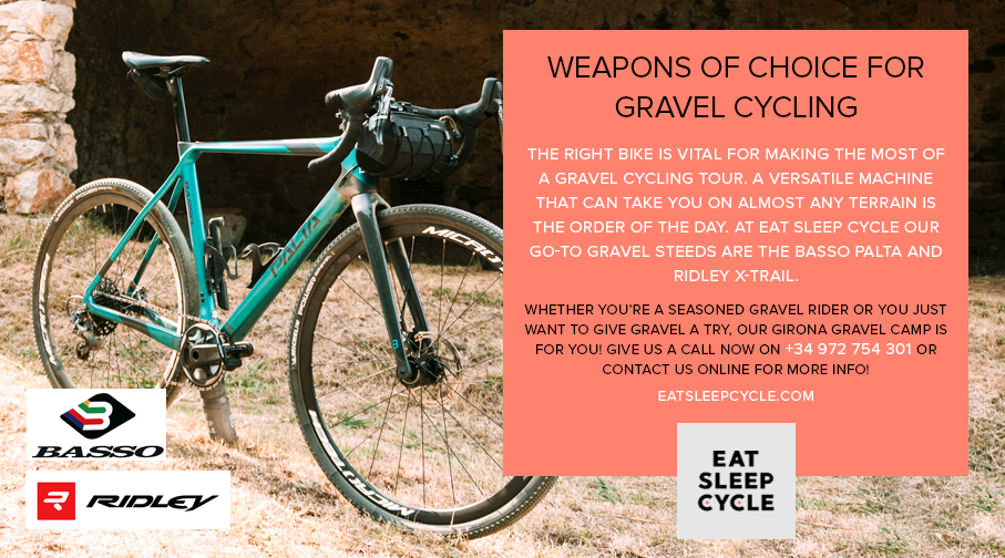 Basso Alta and Ridley - BIkes for Gravel Cycling - Eat Sleep Cycle