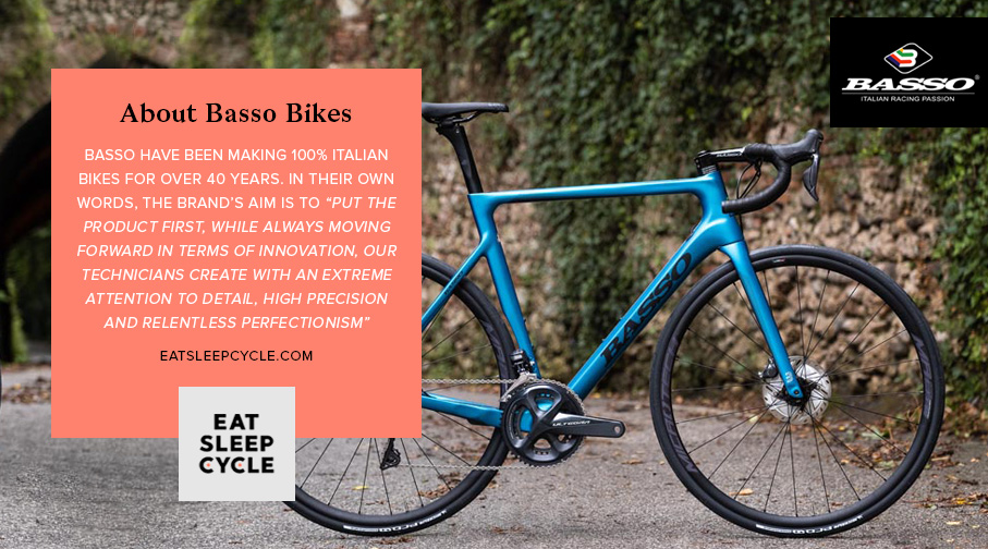 Basso Astra 2020 Bike - About Basso - Eat Sleep Cycle