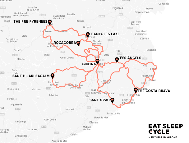 Eat-Sleep-Cycle-New-Year-in-Girona-European-Cycling-Tours-Spain