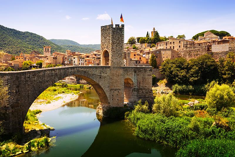 Girona cycling tour in Catalunya