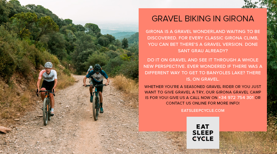 Gravel Biking in Girona - Eat Sleep Cycle