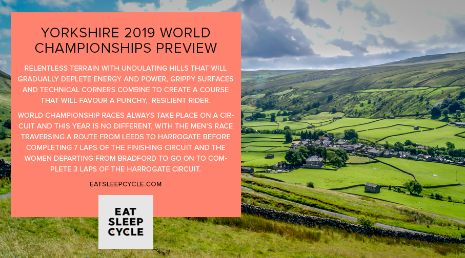 Yorkshire 2019 World Championships Cycling Preview