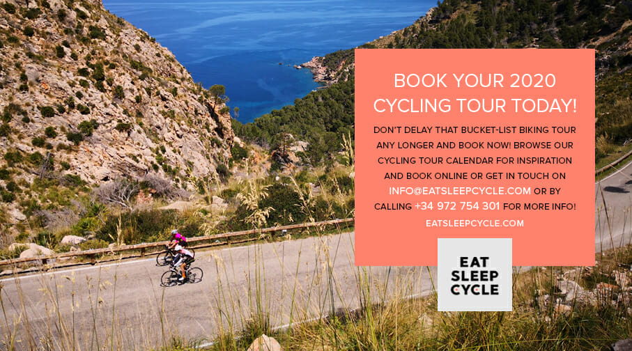 Book 2020 Cycling Holiday - Eat Sleep Cycle Girona