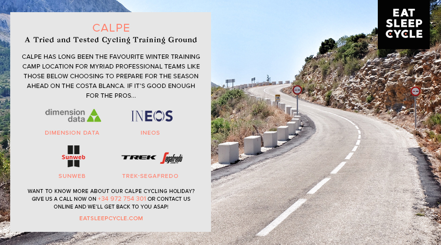 Calpe - Cycling Training Ground - Eat Sleep Cycle