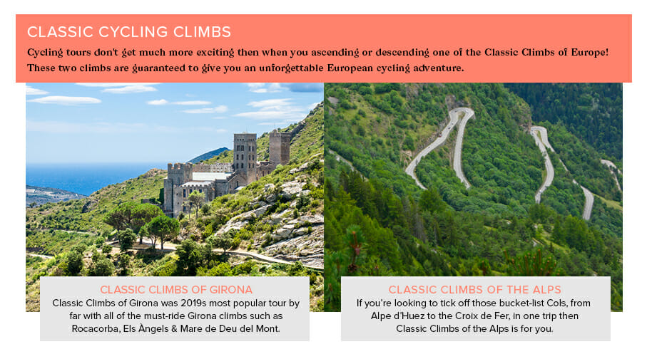 Classic Cycling Climbs - Eat Sleep Cycle - Spain