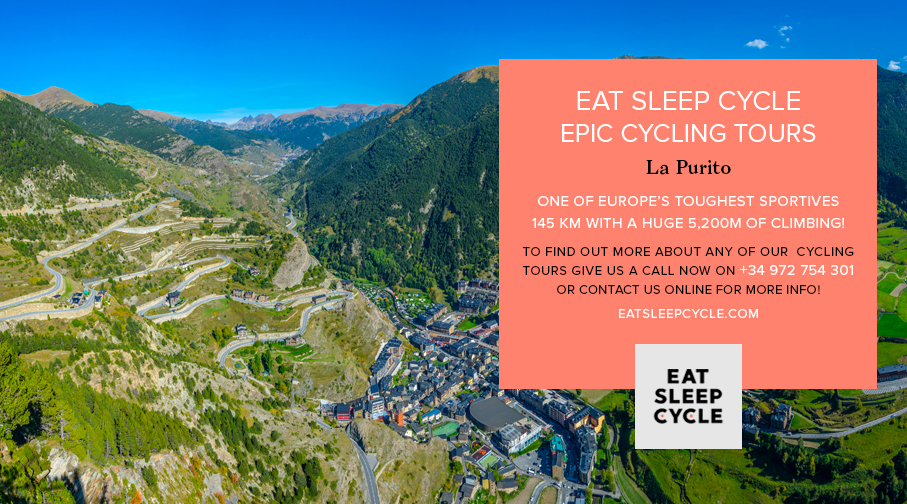 Eat Sleep Cycle Epic Cycling Tours - La Purito