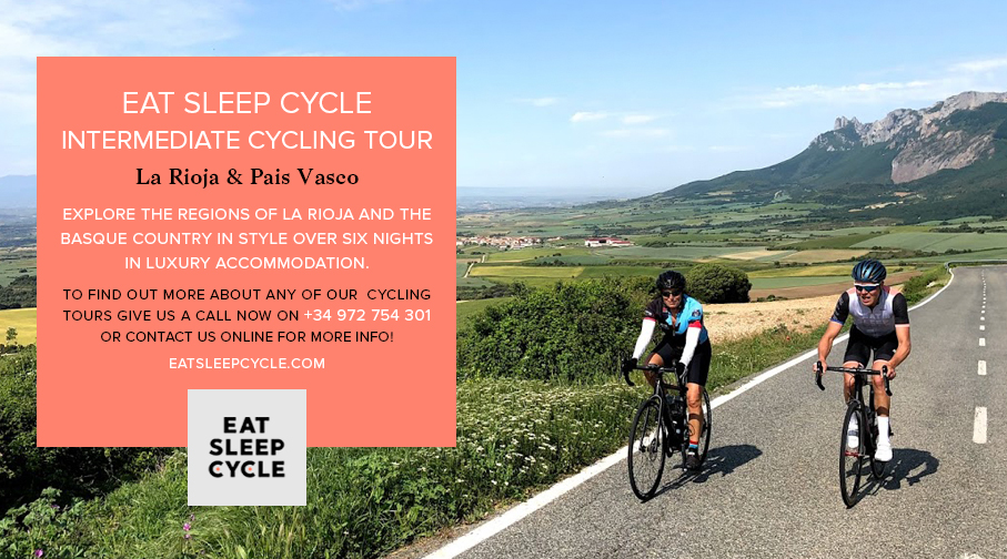 Eat Sleep Cycle Intermediate Cycling Tours - La Rioja & Pais Vasco