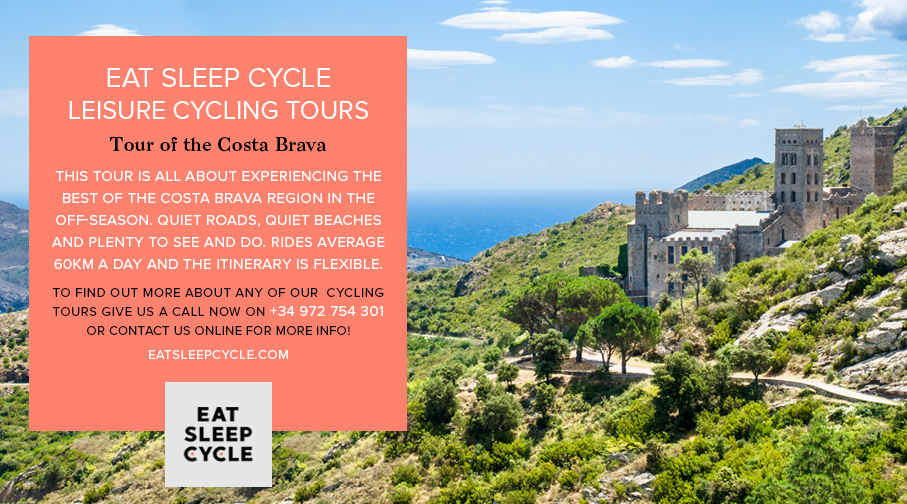 Eat Sleep Cycle Leisure Cycling Tours - Tour of the Costa Brava
