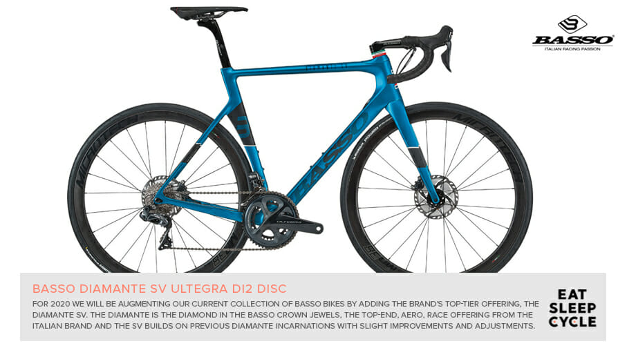 Basso Diamante SV Ultegra Bike Rental - Eat Sleep Cycle - Spain