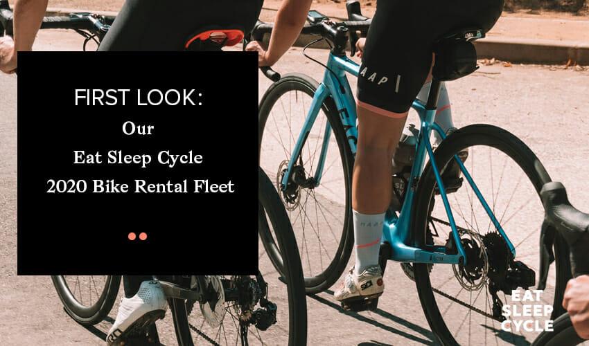 Bike Rental Fleet 2020 - Eat Sleep Cycle - Spain