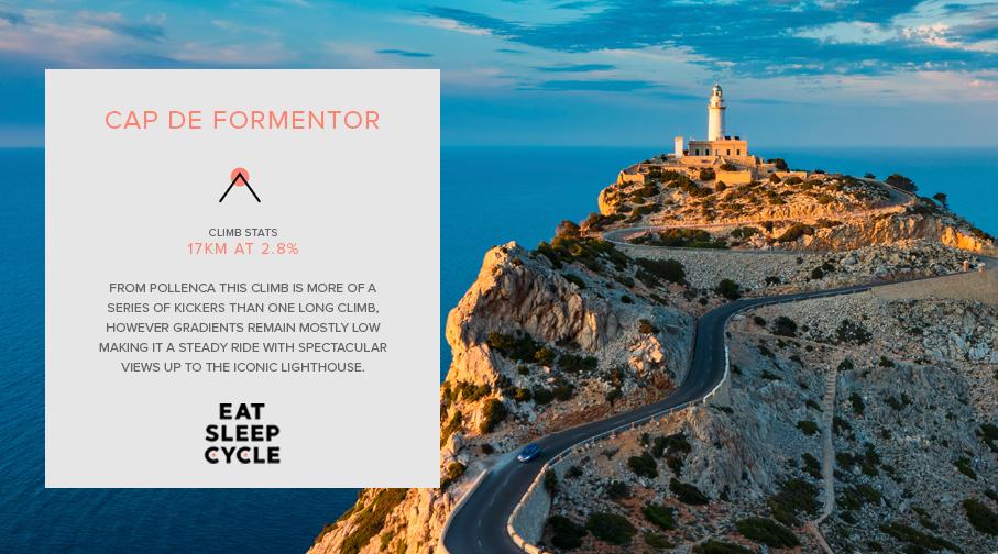 Mallorca Cycling Ride Camp - Cap de Formentor Climb - Eat Sleep Cycle