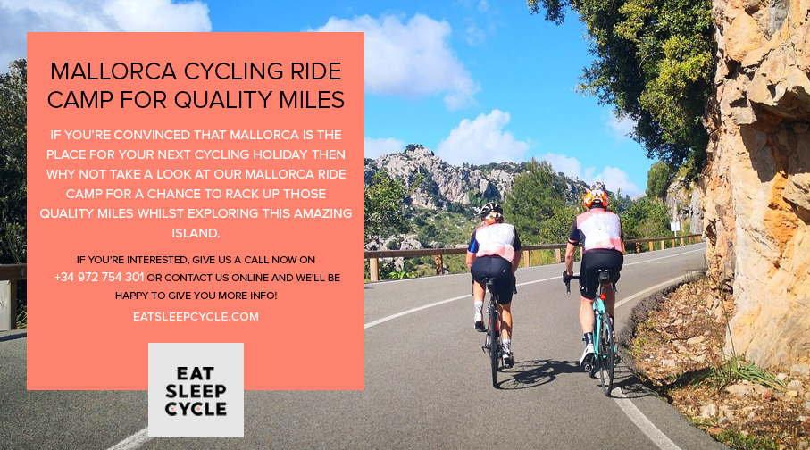 Winter Cycling Ride Camp in Mallorca - Cycling Tour Spain - Eat Sleep Cycle